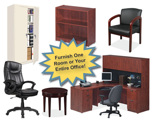 New and Used Columbus Ohio Chairs, book shelves, desks, reception room furniture, cabinets -  Sugarman Office Furniture